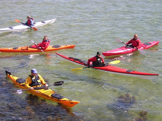 kayaking slider