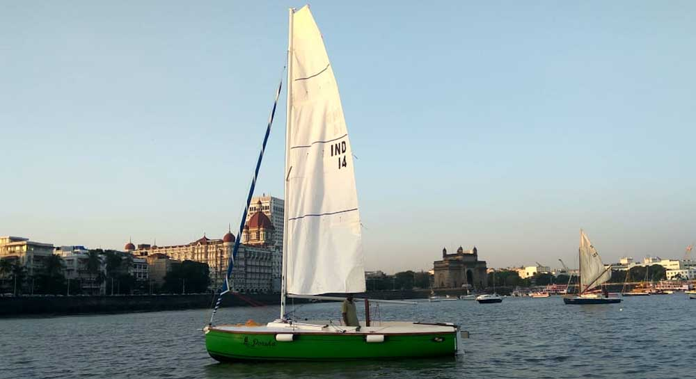XS 63 Sailboat (8 Seater) on Charter in Mumbai from Gateway of India