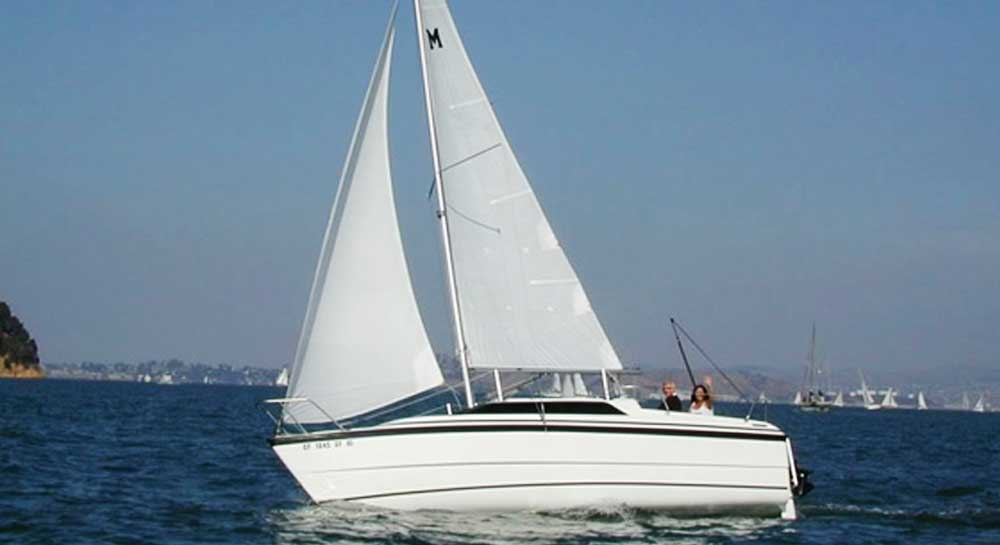 Macgregor 26 Sail Yacht on Charter in Mumbai