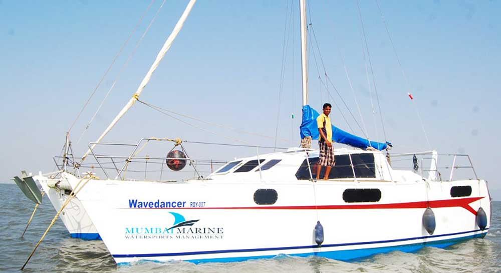 Wave Dancer Catamaran Yacht on Charter in Mumbai