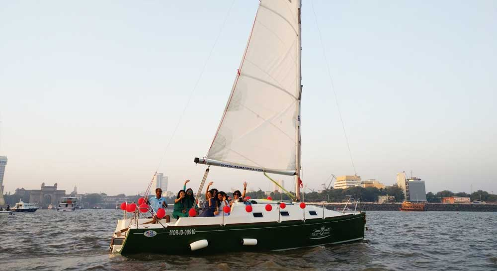 XS 26 Sail Yacht on Charter in Mumbai